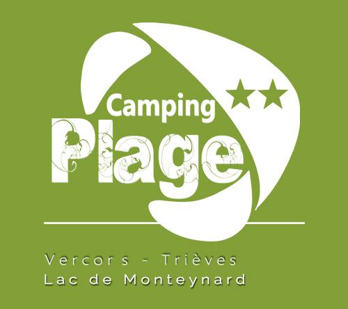 Camping 2 la plage logo footer
