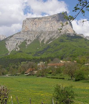 Mont Aiguille camping trieves