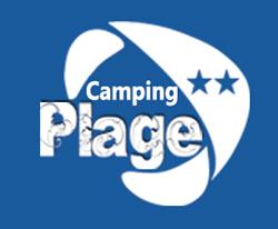 Logo camping 2 la plage